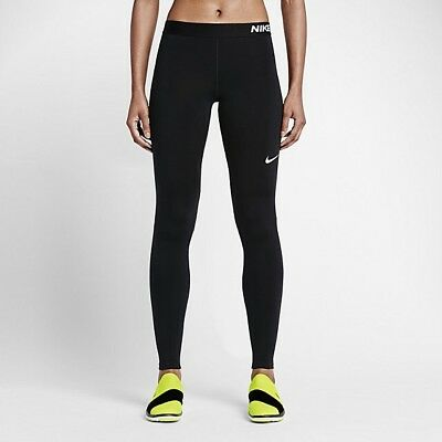 NWT - NIKE Womens Pro Warm Training Tights 803102-010 Black (Size S)