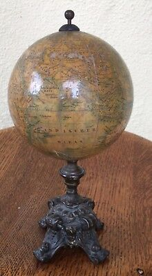 Terrestrial Desk, Globe, German Early 1900s
