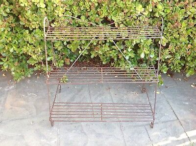 Vintage Rustic Plant Stand