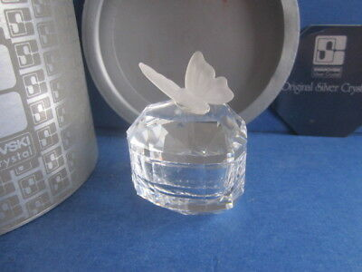 Swarovski treasure box heart butterfly 010103