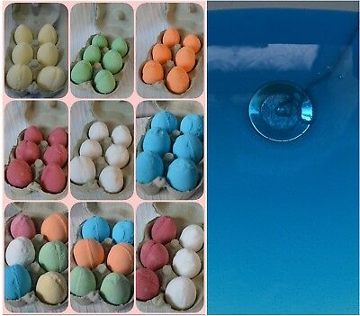 Water Colour Changing Kids Bath Bombs Gift Box Set bathbombs fizzers fizzing uk