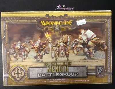 NEW Warmachine Protectorate of Menoth Battlegroup Miniatures Kit Privateer Press
