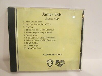 Rare James Otto Sunset Man advance album