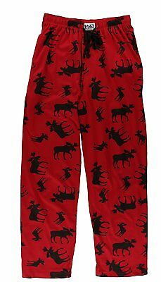 Unisex Moose Animal Pajamas by LazyOne | Men's Women's PJ Pant Shirt Adjustable