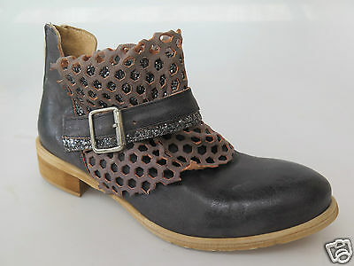 XXX - Italian Beltrami - new leather ankle boot size 37 #123 *FINAL CLEARANCE*