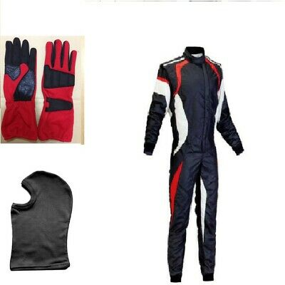 Go Kart Race Suit  Red-Black-White - Limited edition New Year Special Offer