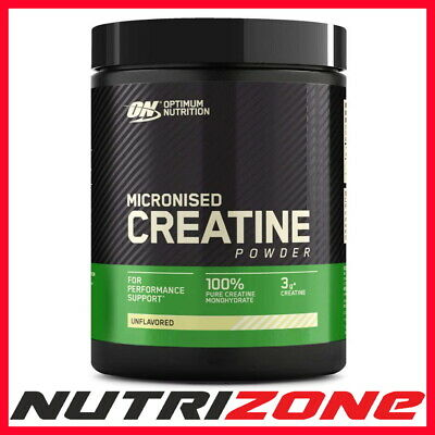 OPTIMUM NUTRITION ON CREATINE Pure Micronized Creatine Monohydrate Powder