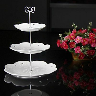 Cake Rack Home Birthday Celebration Two Three Tiers Bowknot Stand Cupcake Baking
