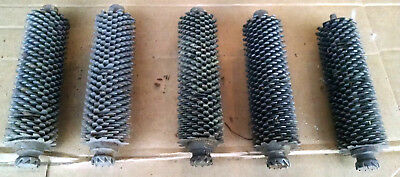 5 Meat Tenderizer Rollers W/blades Used