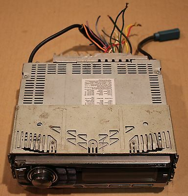Alpine Deck Radio Head Unit Receiver CDE 9852 Used alpine cda 9886 2007 flagship sq cd faceplate only car radio w alpine cde-9852 wiring harness at virtualis.co