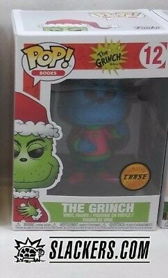 Funko Pop! THE GRINCH Rare CHASE Variant NEW IN BOX Vinyl Figure XMAS Dr Seuss