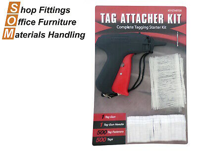 Point Of Sale Tag Gun Starter Kit Includes Pins And Tags