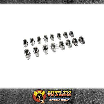 "Roller Rockers Ford Clevo Comp Cams Alloy High Energy 1.73 Ratio 7/16"" Stud Mnt"