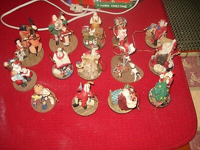 Norman Rockwell ORNAMENTS Lot 15 Christmas Ornament