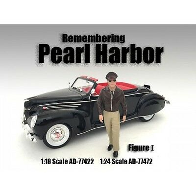 REMEMBERING PEARL HARBOR FIGURE I  -1/24 scale - AMERICAN DIORAMA #77472