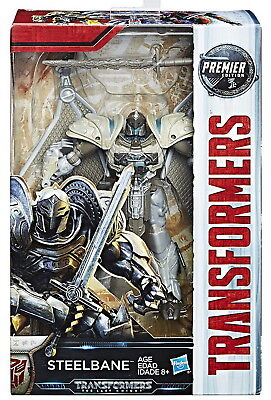 Transformers The Last Knight Deluxe Premier Edition Steelbane Action Figure