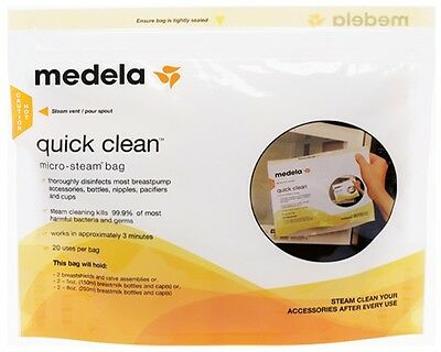 Medela Quick Clean Micro-Steam Bag