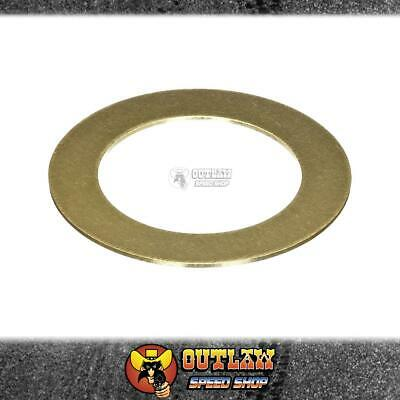 ROLLMASTER Replacement Brass Cam Gear Shim - Cleveland 302-351 & BB Ford - S1712