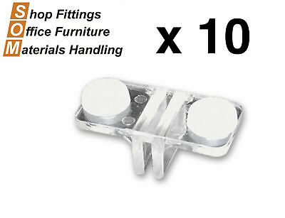 Double Sided Plastic Shelf Support