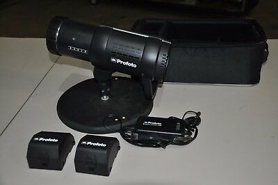 Profoto B1 500 AirTTL Monolight Flash  2 Batteries, Charger & Custom Stand