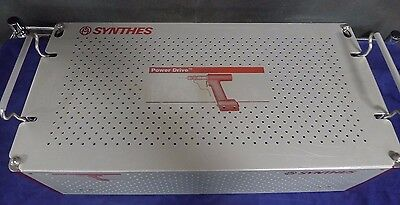 Synthes Power Drive Orthopedic Drill & Components System USED
