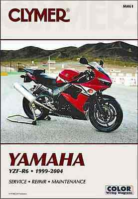 Yamaha YZF-R6 1999 - 2004 Clymer Owners Service & Repair Manual (YZFR6)