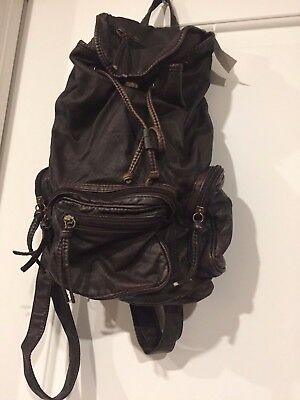 Claire brown backpack