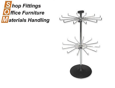 Counter Display Spinner Stand 12 Prong
