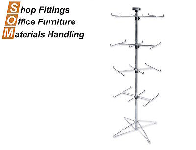 Floor Display Spinner Stand 6 Prong
