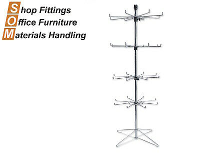 Floor Display Spinner Stand 8 Prong