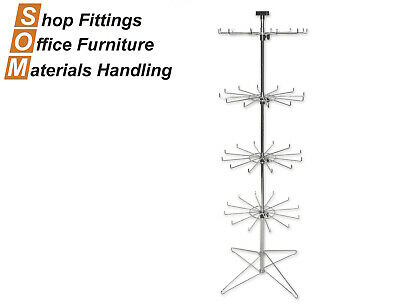 Floor Display Spinner Stand 12 Prong