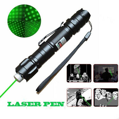 1mw 532nm Visible Green Beam Light Super Bright Laser Pointer Pen Lazer USA