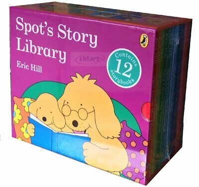 SPOT's Story Library 12 Story Book Set Collection Box Set Eric Hill NEW