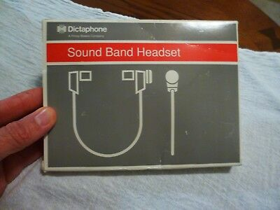 NEW Vintage DICTAPHONE Sound Band Headset P/N 142900