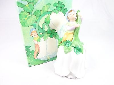 Vintage 1983 Avon Good Luck bell legend of the Leprechaun NWB