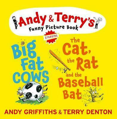 The Cat, the Rat & the Baseball Bat & Big Fat Cows by Andy Griffiths Hardcover B