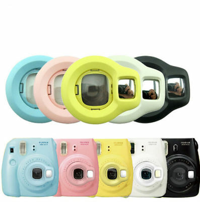 Close-up Lens SS Rotary Self Shoot Mirror For U6 FujiFilm Instax Mini7s/8 Camera