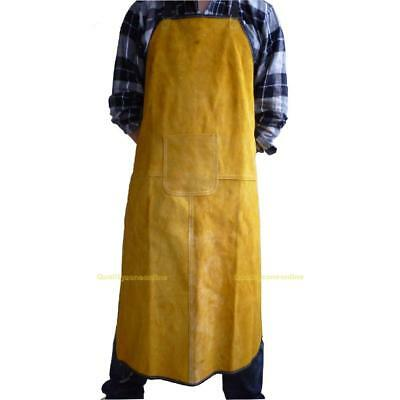 70x100cm Welding Equipment Welder Heat Insulation Protection Apron Cow Leather
