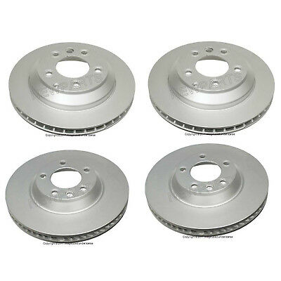 For Porsche Cayenne 2003-2016 Two Front & Two Rear Ate Coated Rotors KIT