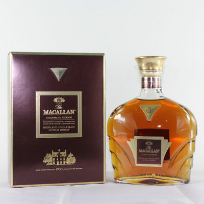 Macallan Chairman's Release - Very Rare Limited Edition Scotch Single Malt -0.7L