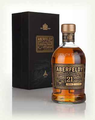 Aberfeldy 21 Years Old - 0.7l new and closed