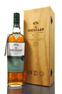 2 Bottles Macallan 25 Years Fine Oak + 2 Bottles Macallan 25 Years Sherry