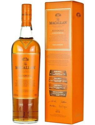 Macallan n 2 - Limited Edition Scotch Single Malt - 0.7L, New