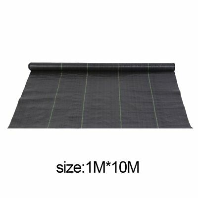 1m x 10m wide weed control fabric ground cover membrane landscape Driveway