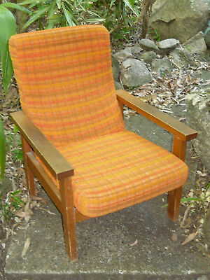 Retro 60s Lounge Arm Chair TV Recliner Vintage Parker Eams Fler Era Danish Style