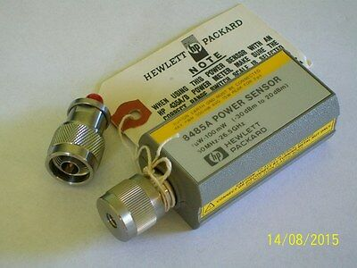 AGILENT HEWLETT PACKARD HP 8485A 26.5 ghz power sensor -30 +20 dbm NEW HP8485A