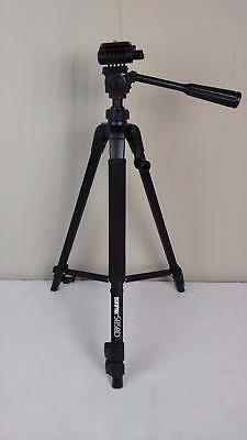 Sunpak Platinum Plus 5858D Camera and Camcorder Aluminum Tripod w/ Release Plate