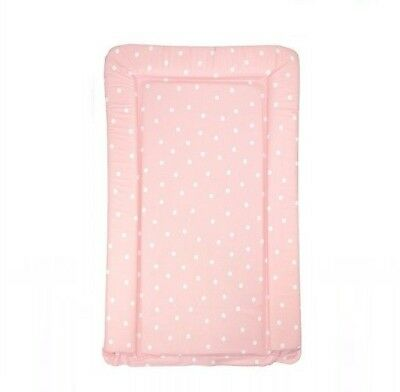 Babyway Polka Dot Soft Padded Change Mat / Baby Nappy Diaper Changing Pad - Pink