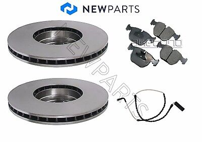 For BMW E46 M3 01-06 Brake Kit Two Front+Two Rear Brake Rotors Opparts
