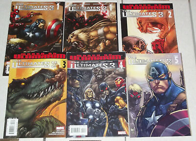 The Ultimates 3 (Who Killed Scarlet Witch) Issues 1 to 5 + Variant Cover of #1